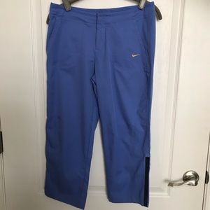 Nike Periwinkle Blue Cropped Pants Small